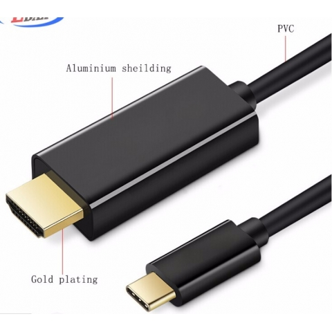 Type C to hdmi adapter For Computer Hd Tv Support 4K 60Hz 4K